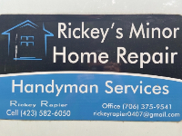 Rickey's Minor Home Repair  and Painting