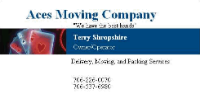 Business Vendors Aces Moving Company in Dalton GA