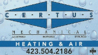 Certus Mechanical Heating and Air LLC