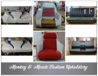 Business Vendors Monkey & Meade Custom Upholstery in Chattanooga TN
