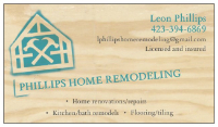 Business Directory Phillips home remodeling in Chattanooga TN