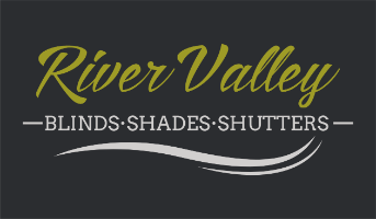River Valley Blinds Shades & Shutters Company Logo by Jason Flaherty in Chattanooga TN